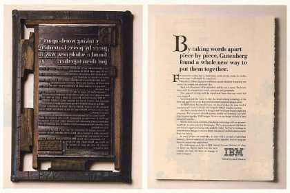 IBM Federal Systems VLSI Gutenberg Type (1986)