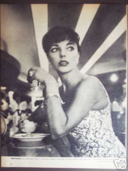 Joan Collins Magazine Promo Gunther Photo (1958)