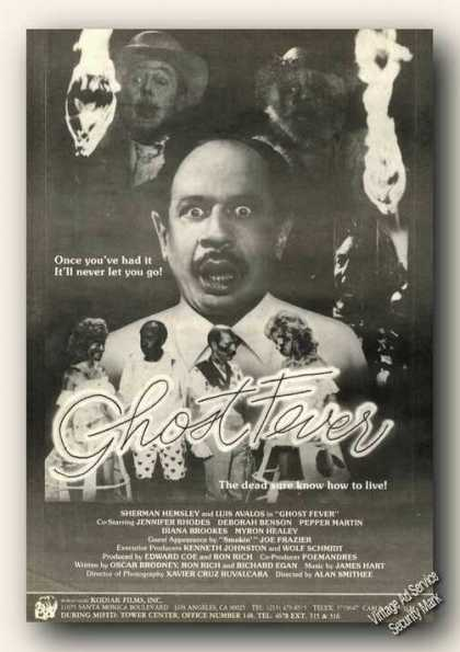 Ghost Fever Movie Rare (1986)