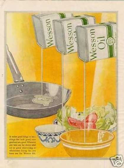 Wesson Oil Color (1926)