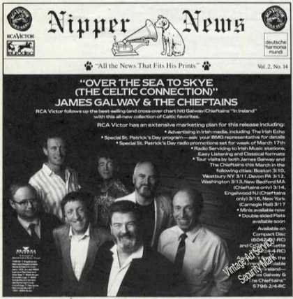 James Galway & the Chieftans Celtic Music (1991)