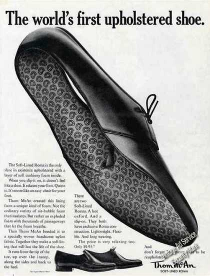 Thom Mcan Soft-lined Roma Upholstered Shoe (1963)