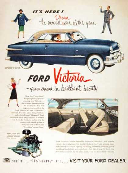 Ford Victoria Coupe (1951)