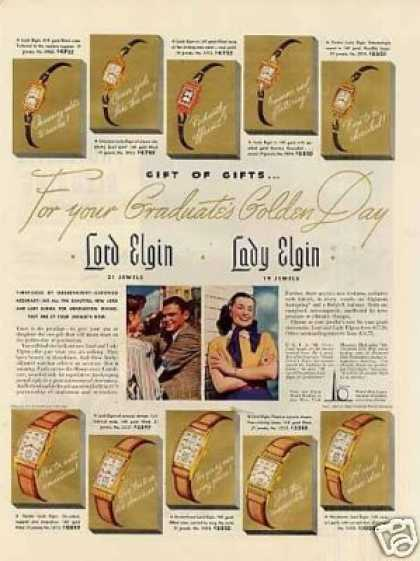 Elgin Watches (1940)