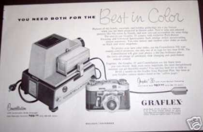 Graflex 35 Camera & Slide Projector (1956)