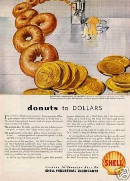 Shell Ad Doughnut Corporation (1946)