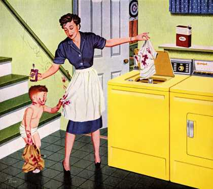 Everything comes clean with an RCA WHIRLPOOL 			Stan Ekman (1959)
