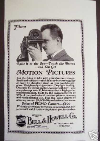 Original Bell & Howell Movie Camera (1925)