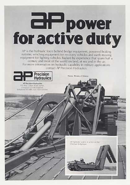 AP Precision Hydraulics Chieftain Bridgelayer (1980)