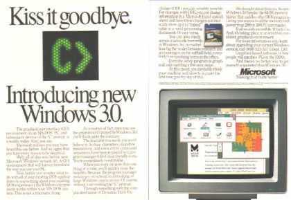 "Microsoft – The Demise of the ""C"" Prompt – Sold (1990)"