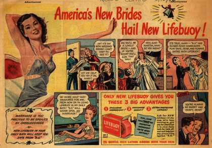Lever Brothers Company's Lifebuoy Health Soap – America's New Brides Hail New Lifebuoy (1946)
