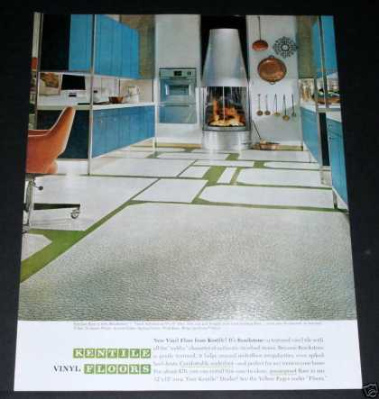 Kentile Flooring Modern Kitchen (1964)