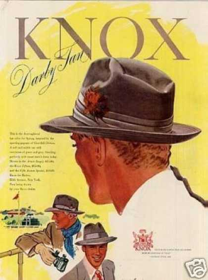 Knox Darby Tan Hat (1948)