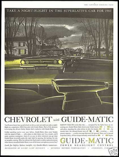 Chevrolet Impala Guide Matic Headlight Control (1959)