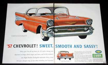 57 Chevrolet Bel Air Sport (1956)