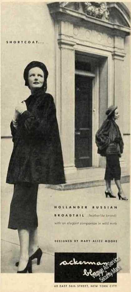 Hollander Russian Broadtail By Mary Alice Moore (1947)