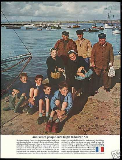 France Travel Brittany Douarnenez Photo (1961)