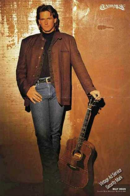 Nice Billy Dean Magazine Print Feature (1996)