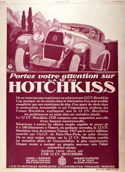 Hotchkiss Sedan (1928)
