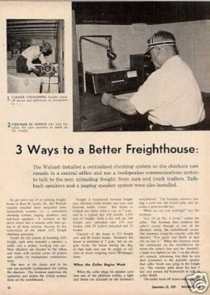 "1957""3 Ways To a Better Freighthouse""Ar"