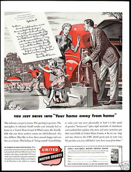 United Motor Courts Home Away From Home (1946)