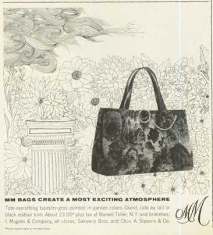 Mm Purse Fashion Bag Photo (1961)