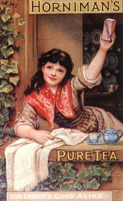 Tea Horniman&#8217;s, UK (1890)