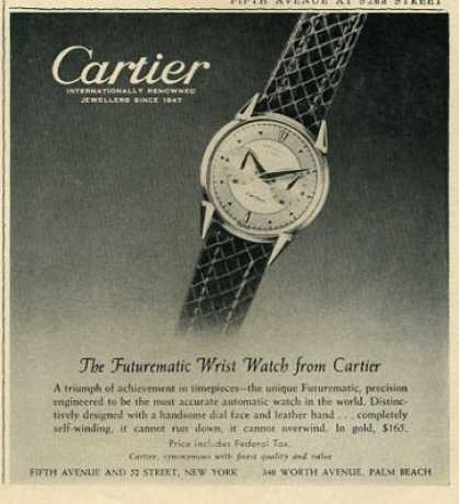 Cartier Futurematic Watch (1952)