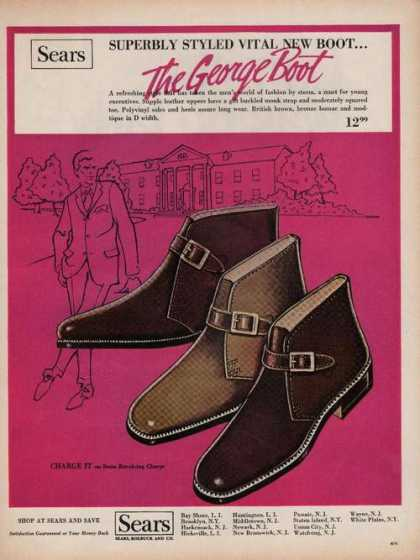 Sears George Boots for Men (1969)
