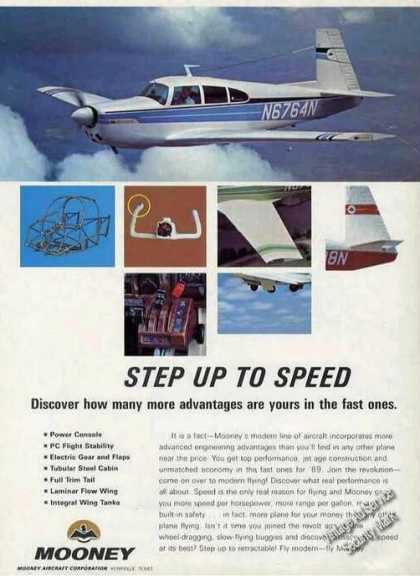 "Mooney Photos ""Step Up To Speed"" (1969)"