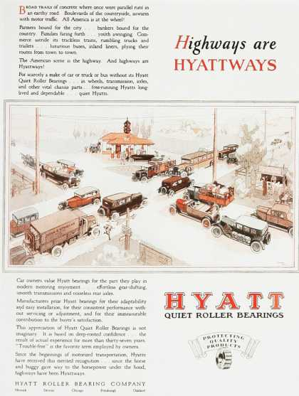 Hyatt Quiet Roller Bearings