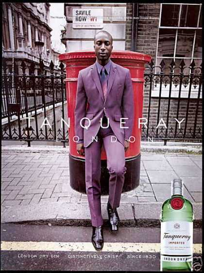 Tanqueray London Gin Westminster Savile Row (2001)