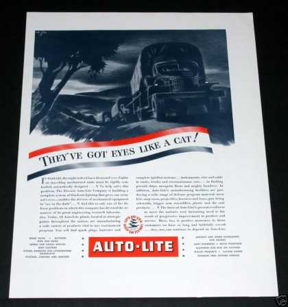 Auto-lite, Eyes Like Cats, Wwii (1941)