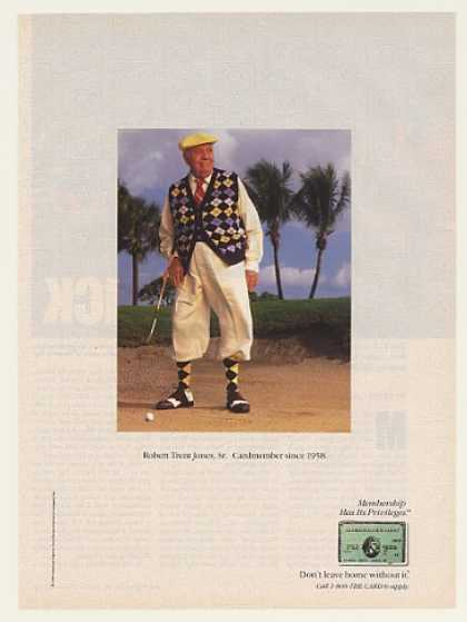 Robert Trent Jones Sr American Express Photo (1989)