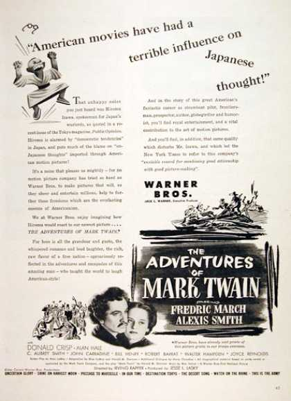 """The Adventures of Mark Twain"" (1944)"