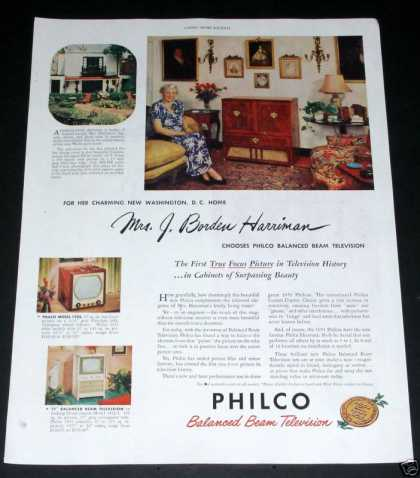 Philco Balanced Beam Television (1950)