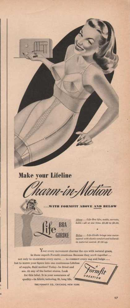 Charm In Motion Formfit Creation (1946)
