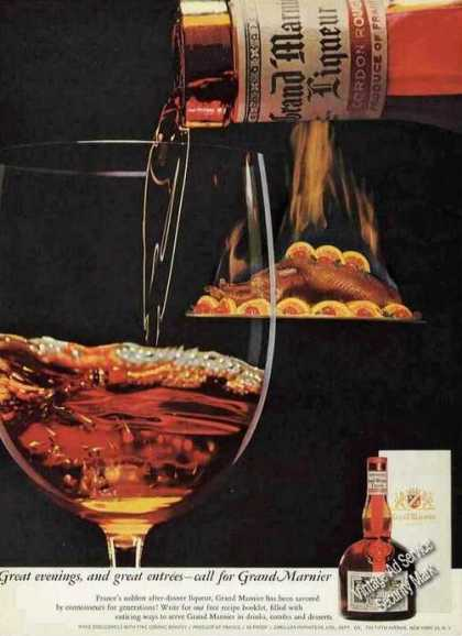 Grand Marnier Great Evenings & Great Entrees (1960)