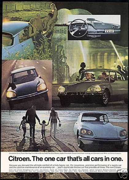 Citroen 5 Photo All Cars In One (1969)