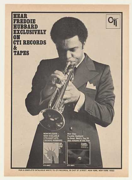 Freddie Hubbard CTI Records Photo (1971)