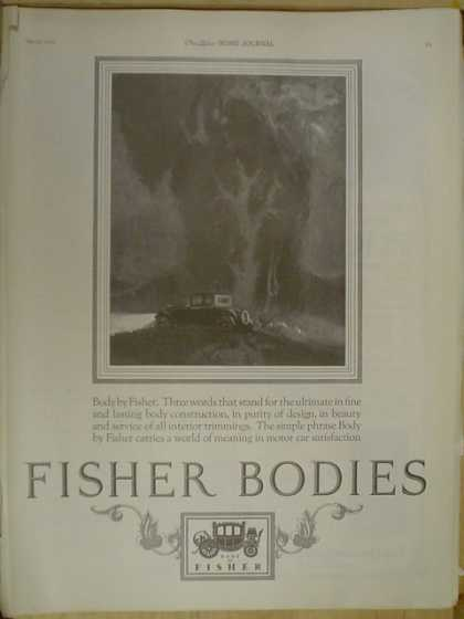 Fisher Auto Bodies. Body by Fisher (1926)