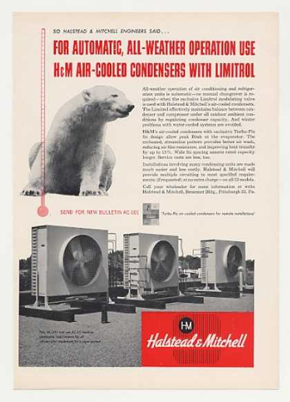 Halstead & Mitchell Air-Cooled Condensers (1957)