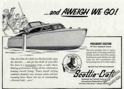 Scottie-craft President Custom 19' Cruiser (1956)