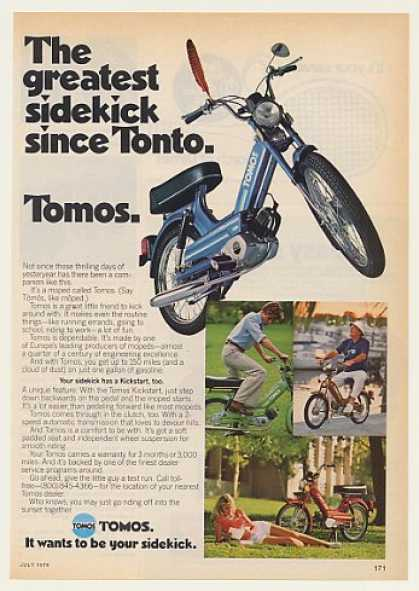 Tomos Moped Greatest Sidekick Since Tonto (1978)