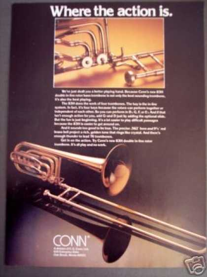 Conn New 83h Trombone Photo (1980)