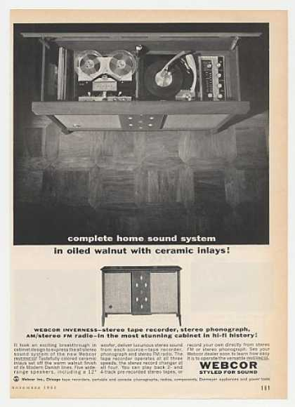 Webcor Inverness Hi-Fi Stereo (1962)