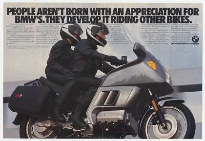 BMW K100RT Motorcycle Photo (1986)