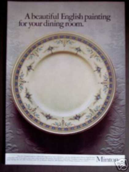 Minton Bone China Grasmere Pattern (1976)