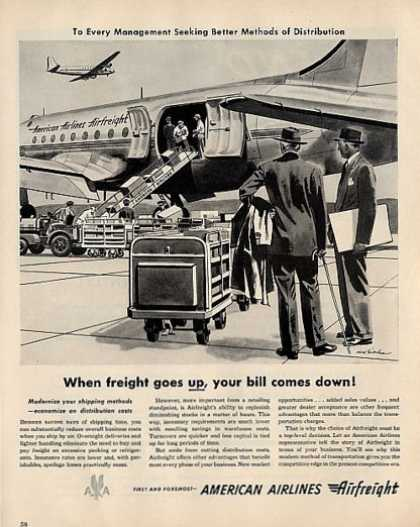 American Airlines Airfreight (1950)