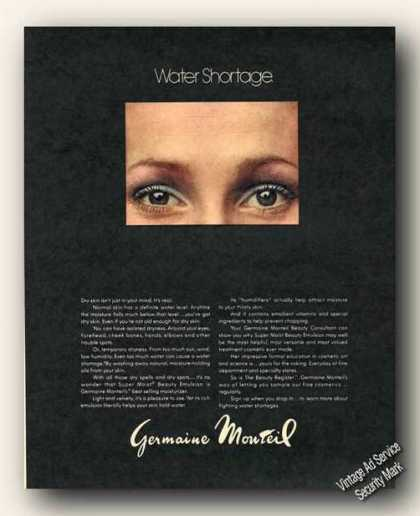 Germaine Monteil Water Shortage Moisturizer (1973)